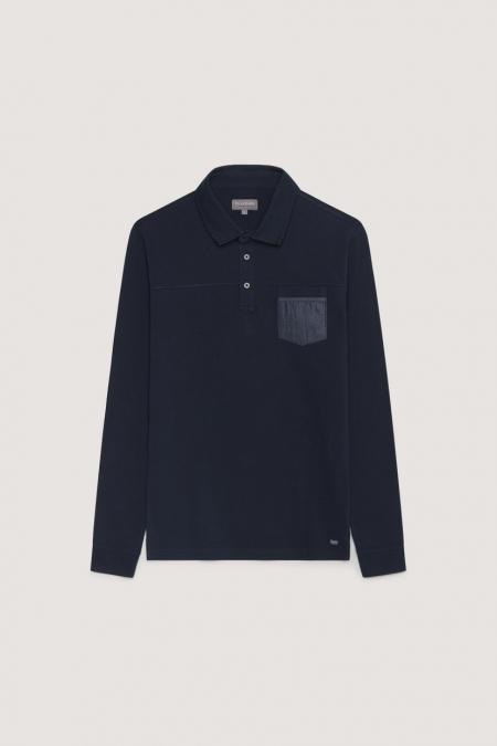 Polo avec poche MERLIN