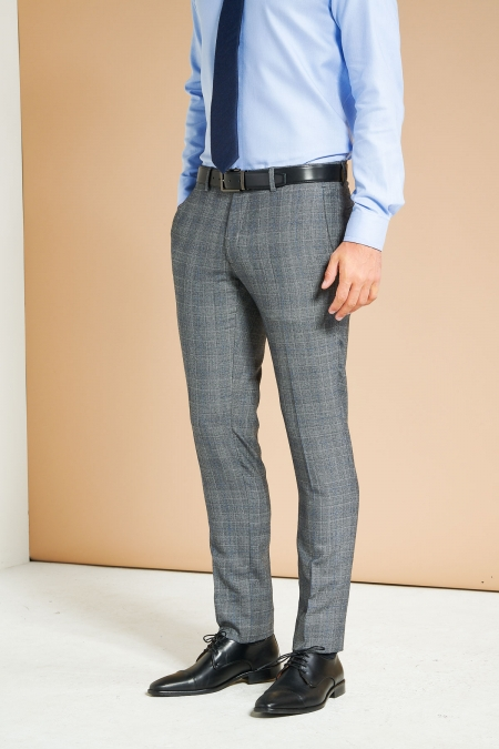 Pantalon de costume Kanty gris