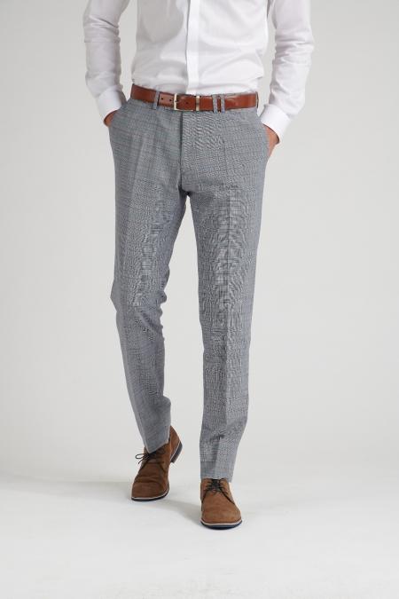Pantalon  bleu grisé Mike