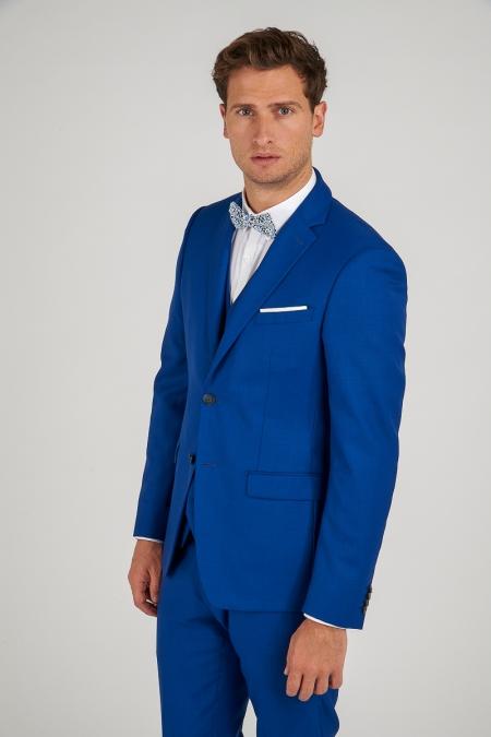 Veste de costume bleue JERRY
