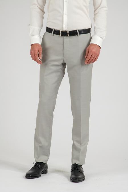 Pantalon gris clair Lenny