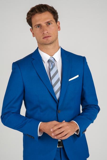Veste bleu moyen Stan