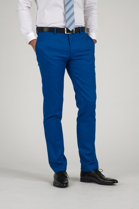 Pantalon bleu moyen Stan