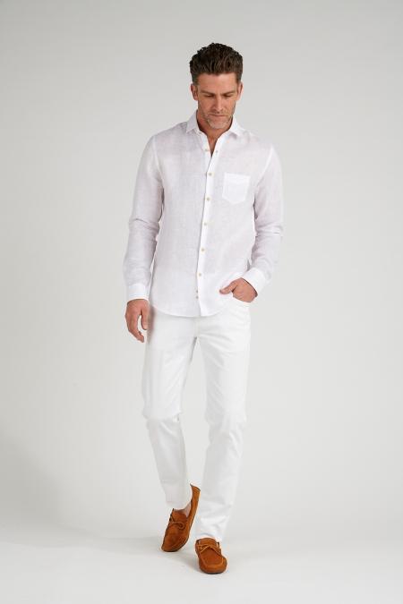 Chemise regular blanc Martin