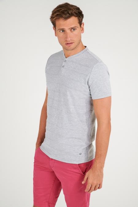 T-shirt gris clair - Felice