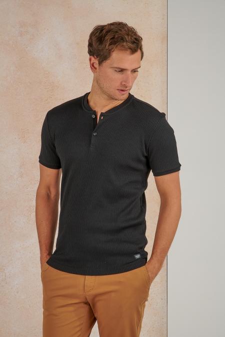 T-shirt noir - Sampieru