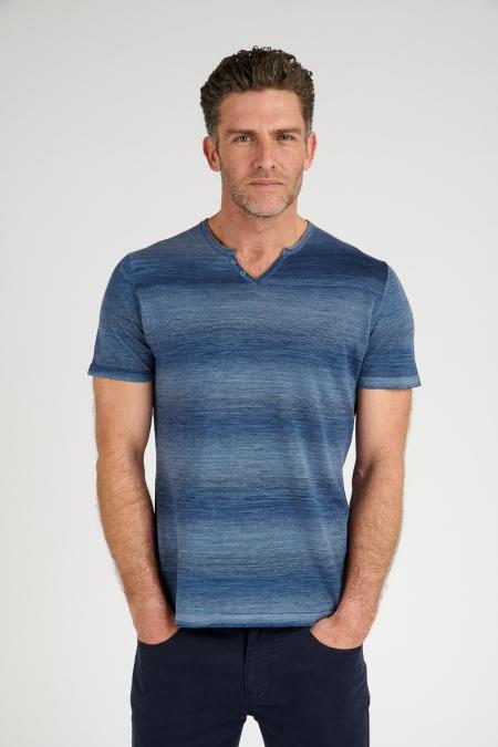 T-shirt bleu - Luigi