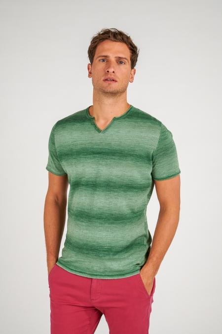 T-shirt menthe - Luigi
