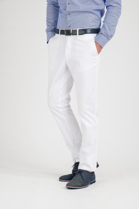 Pantalon blanc Galen
