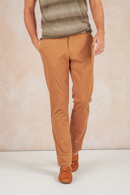 Pantalon camel Galen