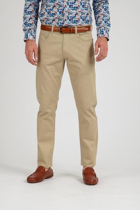 Pantalon beige Flaix
