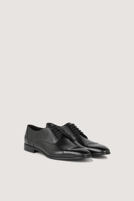 Chaussure ville  noir Tricot