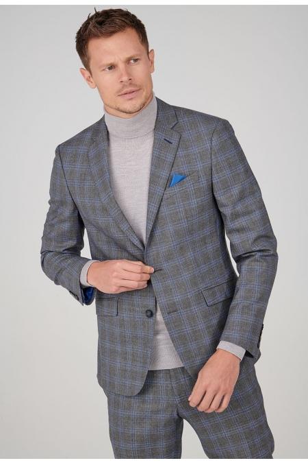 Veste de costume gris ROMIN