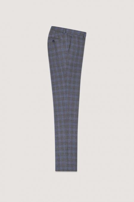 Pantalon de costume gris Romin