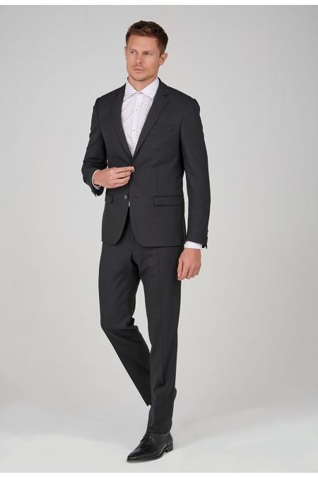 Veste de costume noir FLORIN