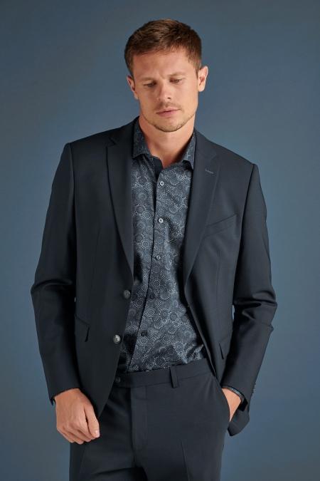 Veste de costume noire Florin