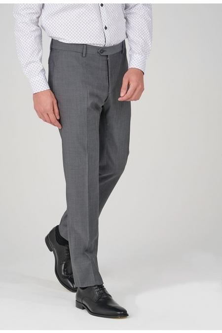 Pantalon de costume gris foncé BASTIN