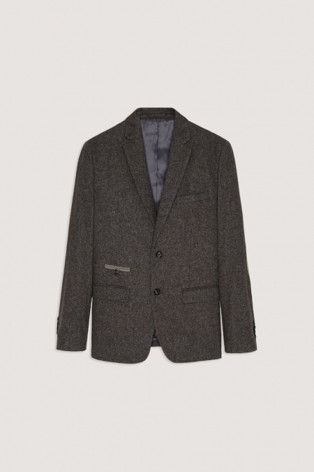 Veste blazer en tweed TROPHY