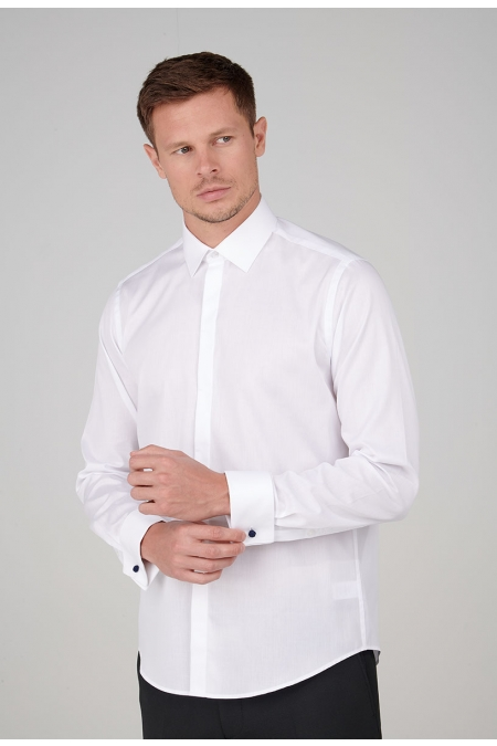 Chemise blanche regular Louis
