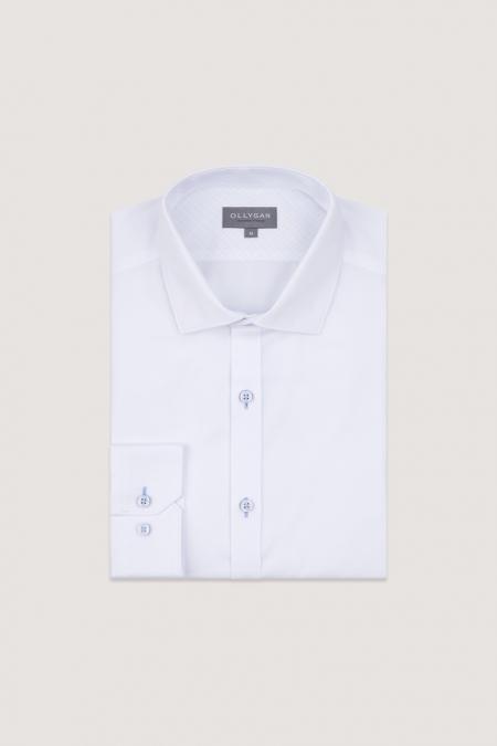 Chemise blanche regular Arthur