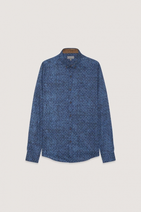 Chemise bleu Théo