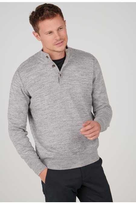Pull gris col montant Xiaomi