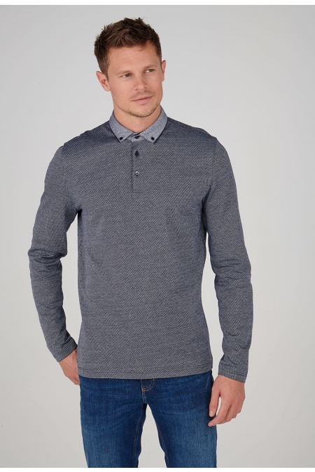 Polo maille jacquard RONY