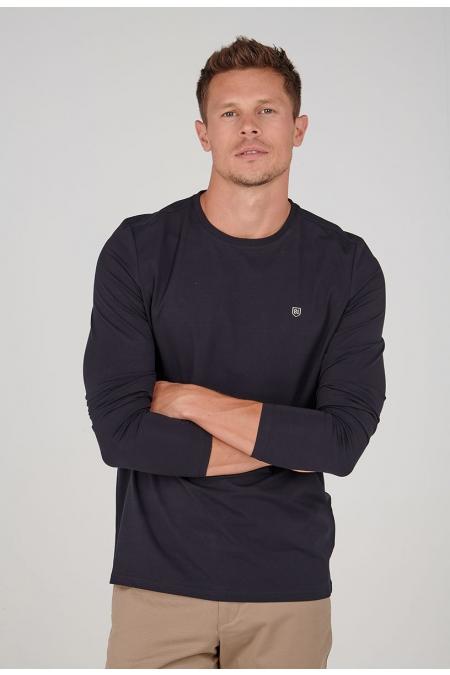 T-shirt marine uni Paxi