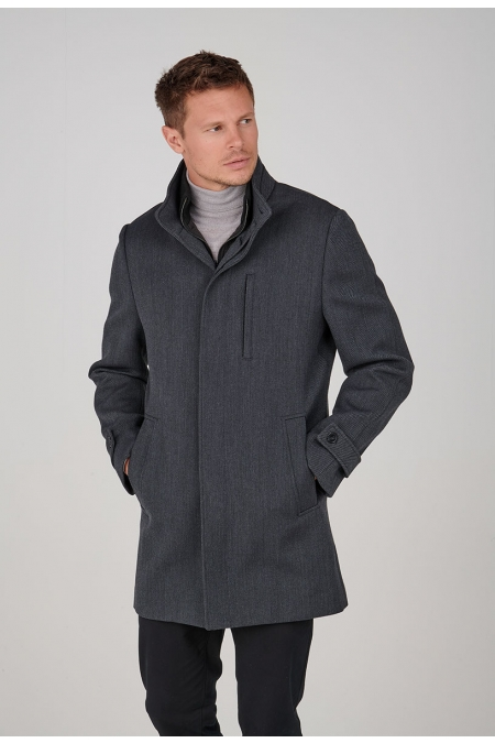 Manteau chevrons TONY