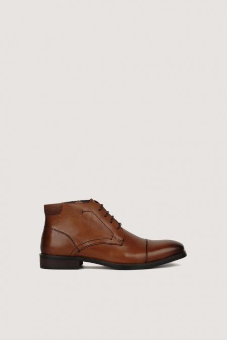Chaussure cognac curt