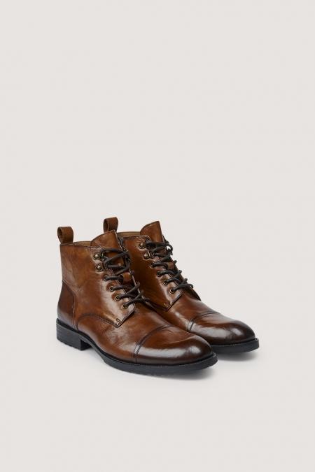 Chaussure cognac cliff