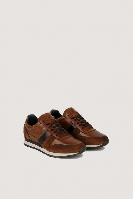 Sneakers bi-matière ROY