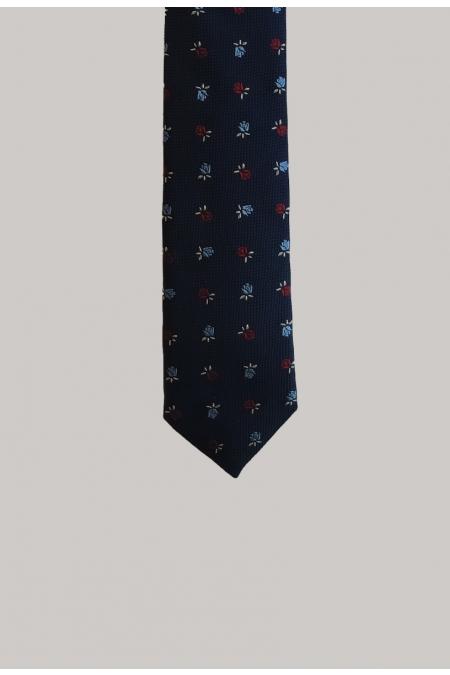 Cravate fleurie LIAM