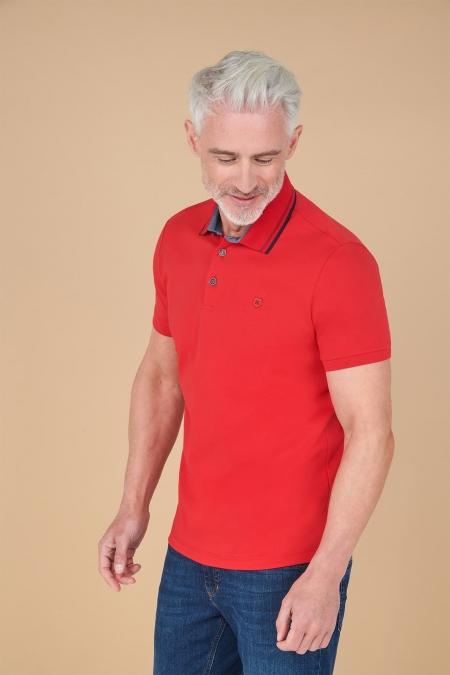 Polo manches courtes 100% coton