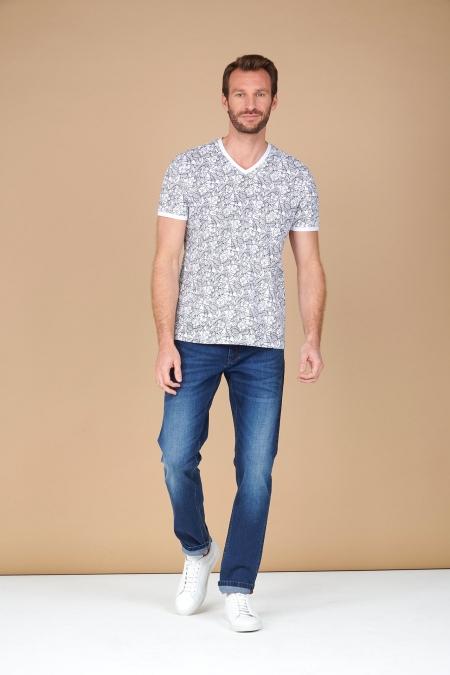 T-shirt fleuri CACTUS