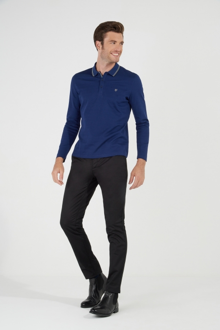 Polo manches longues sportswear