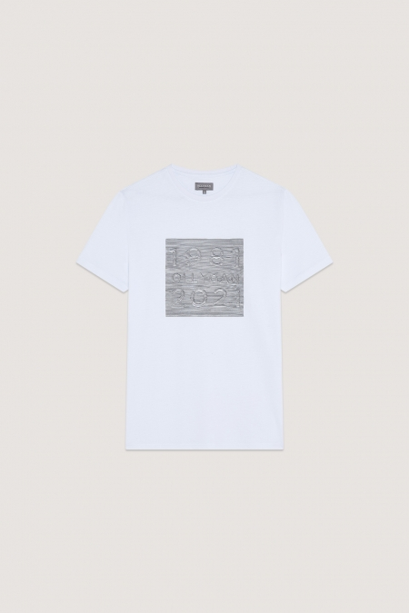T-shirt imprimé sérigraphié