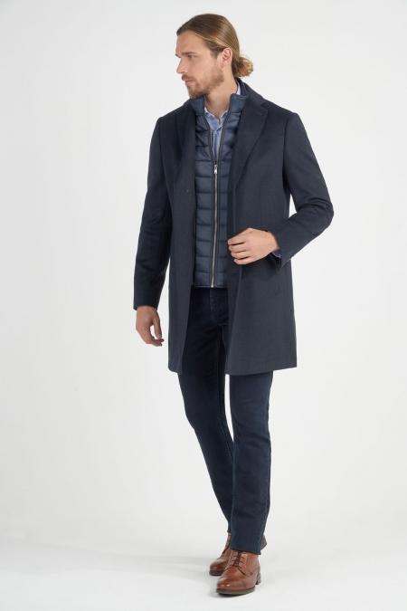 Manteau parmenture matelassée amovible